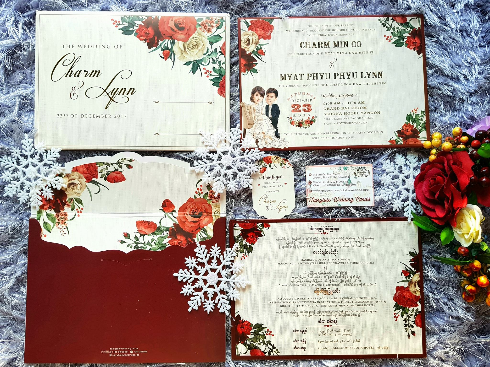 Fairytale Wedding Cards