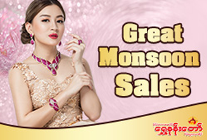 Forever Gems by Golden Palace Gold & Jewellery @ Junction City - Yangon