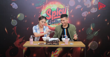 Spicy Challenge(khay set thwin & so pyay myint)