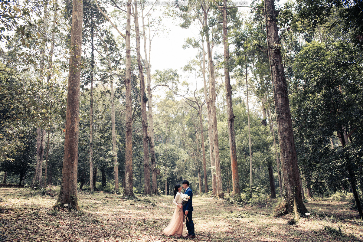 outdoor pre wedding