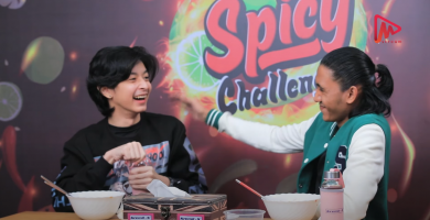 Spicy Challenge(Bon Bon & Junior chit kaung)