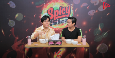 Spicy Challenge By Heavy Phyo & Ei si Kway