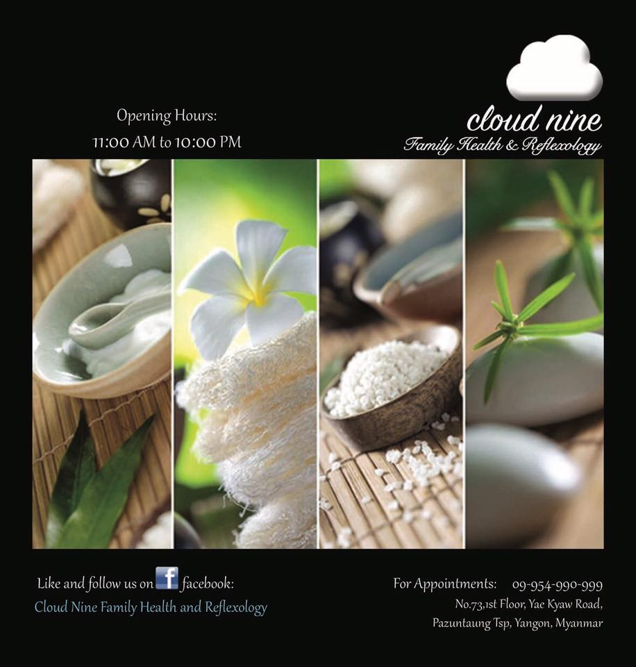 Cloud Nine Family Health and Reflexology - Yangon